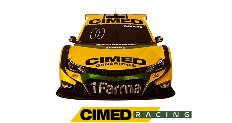 Carro da Cimed Racing
