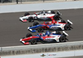 "Indy-500: 19-year-old Matheus Leist rides as a veteran in the ""toughest race of his career"" and arrives in 13th place"