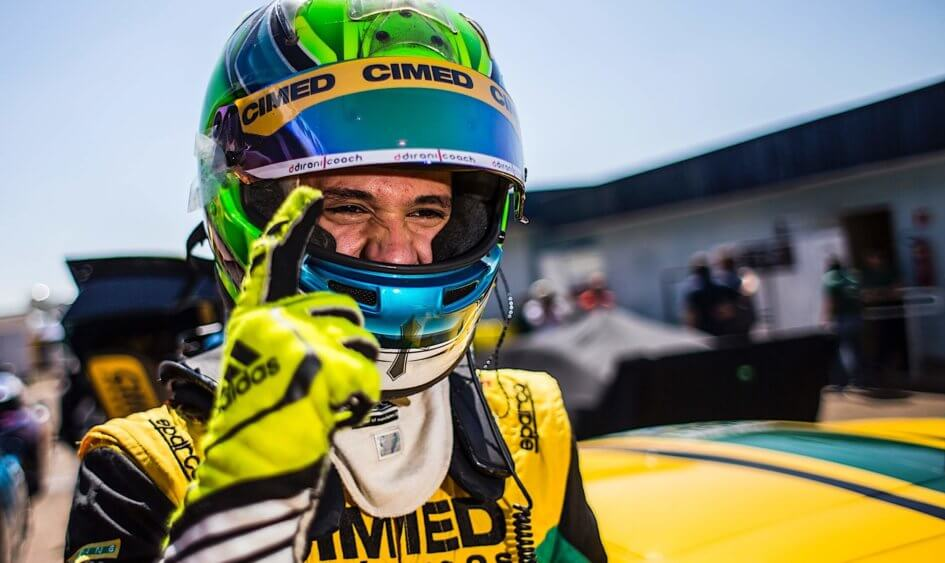 Marcel Coletta conquista pole position na Stock Light em Campo Grande